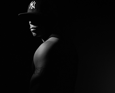 Todd Smith aka LL Cool J photographed by Spicer